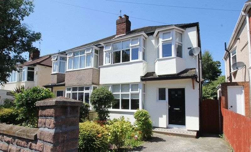 3 Bedrooms Semi Detached House for sale in Ashlar Road, Aigburth, Liverpool, L17