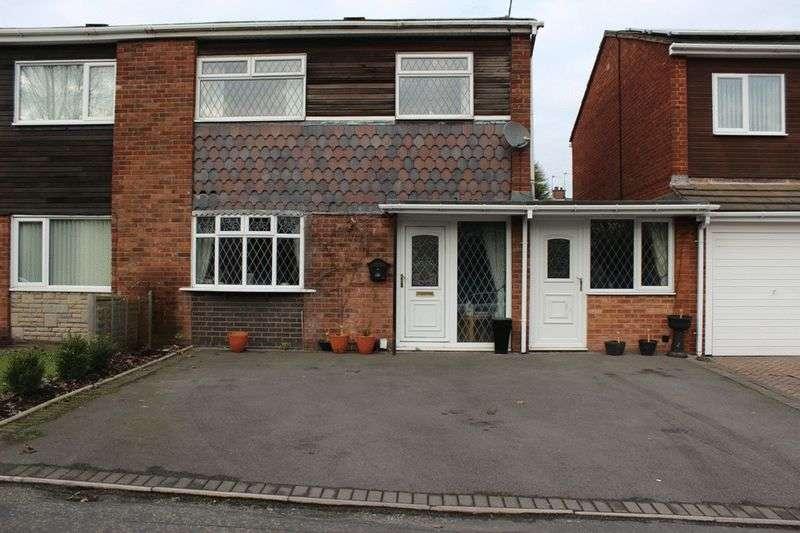 3 Bedrooms Semi Detached House for sale in Wednesbury Oak Road, Tipton