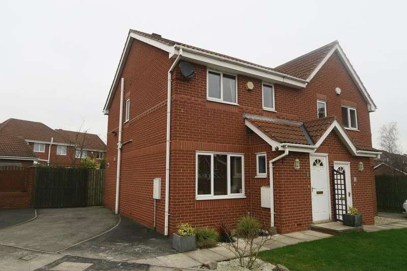 3 Bedrooms Semi Detached House for sale in The Gallops, Morley, Leeds