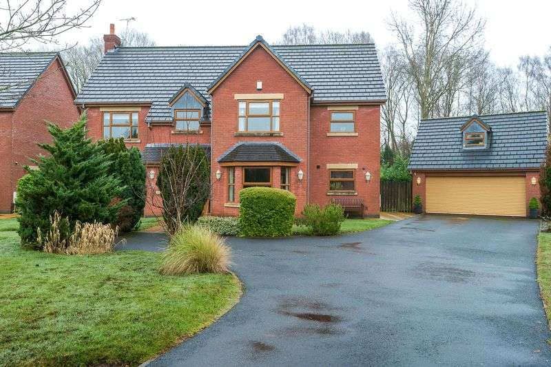 6 Bedrooms Detached House for sale in Deerwood Gardens, Standish