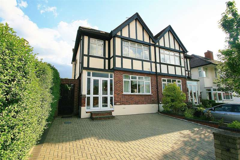 4 Bedrooms Semi Detached House for sale in Chinnor Crescent, Greenford