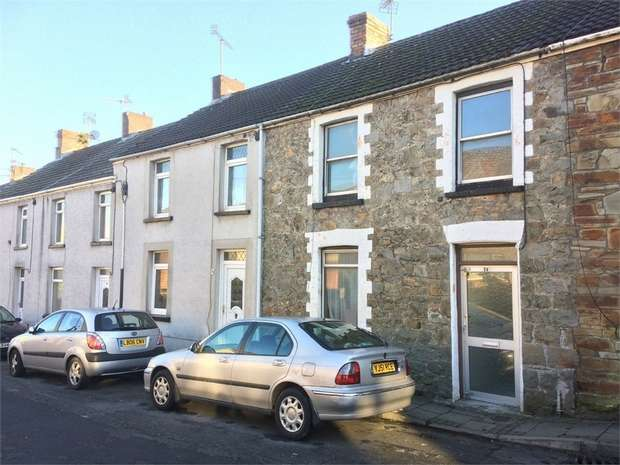 3 Bedrooms Terraced House for sale in West Street, Aberkenfig, Bridgend, Mid Glamorgan