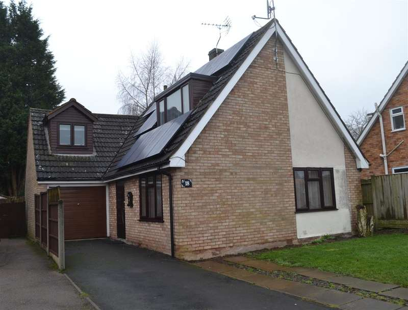 3 Bedrooms Detached House for sale in Moathouse Drive, Haughton, Stafford