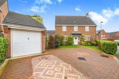 4 Bedrooms Detached House for sale in Arizona Crescent, Chapelford Village, Warrington, Cheshire