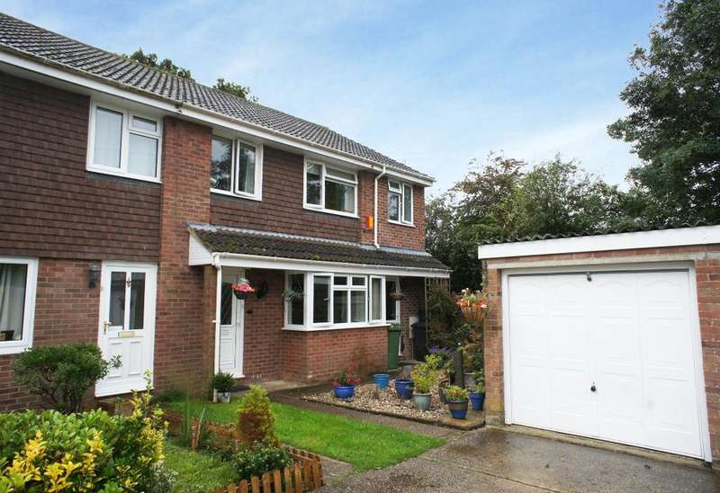 3 Bedrooms Semi Detached House for sale in Mull Close, Oakley, Hampshire, RG23 7LQ