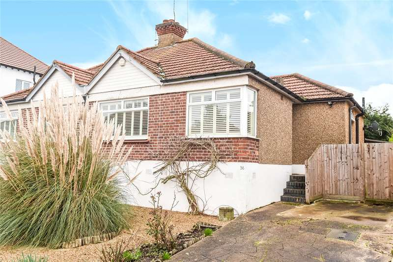 2 Bedrooms Semi Detached Bungalow for sale in Alandale Drive, Pinner, Middlesex, HA5