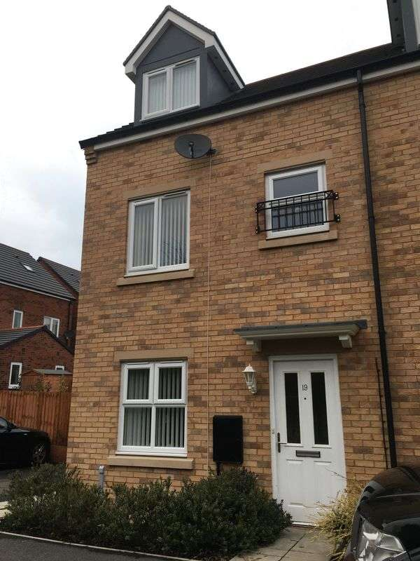 3 Bedrooms Terraced House for sale in Rotherdale Court, Walker