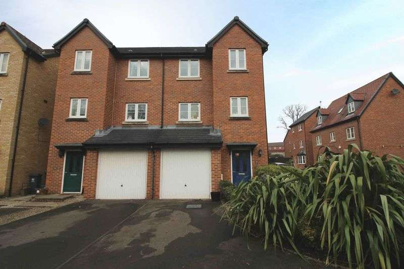 4 Bedrooms Semi Detached House for sale in Whitworth Square, Whitchurch, Cardiff CF14 7DR
