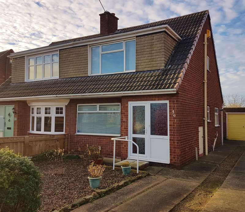 3 Bedrooms Semi Detached House for sale in Wolsingham Drive, Acklam, Middlesbrough, TS5 8JU
