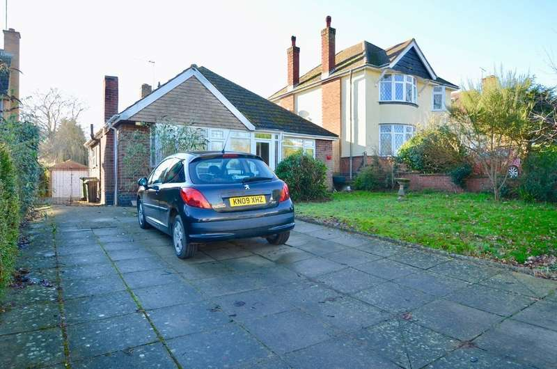 2 Bedrooms Detached Bungalow for sale in Lower Hillmorton Road, Hillmorton, Rugby