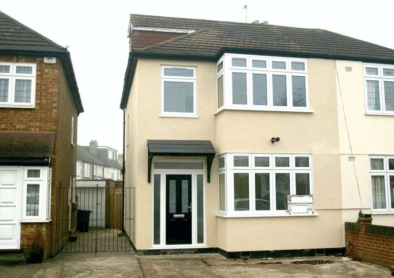 4 Bedrooms Semi Detached House for sale in Amery Gardens, Gidea Park