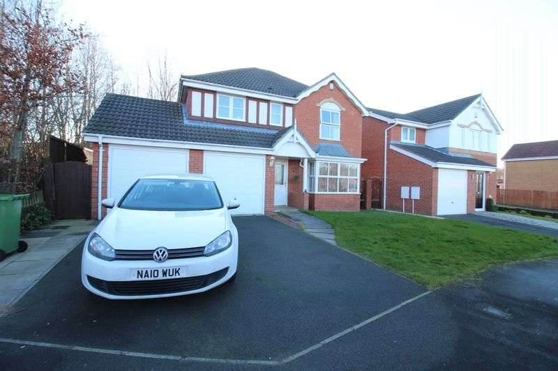 4 Bedrooms Detached House for sale in Waterside Park, Hebburn