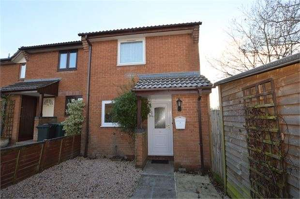 2 Bedrooms End Of Terrace House for sale in Prince Rupert Way, Heathfield, Newton Abbot, Devon. TQ12 6SY