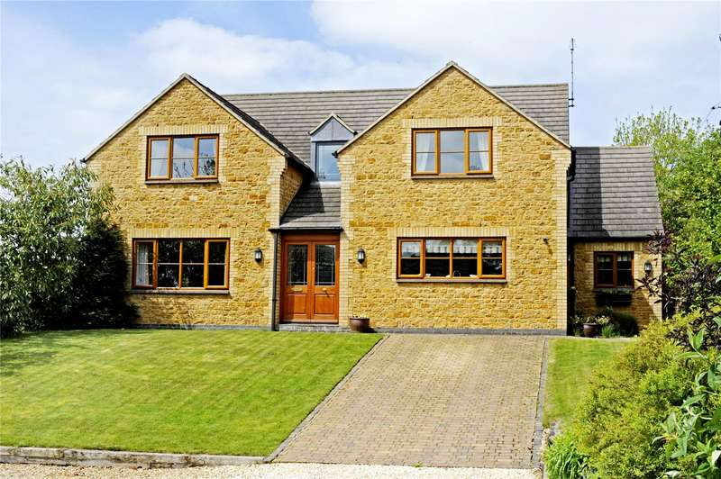 5 Bedrooms Detached House for sale in High Street, Croughton, Brackley, Northamptonshire, NN13