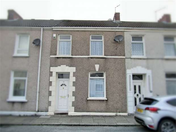 3 Bedrooms Terraced House for sale in Glanmor Terrace, Llanelli, Carmarthenshire