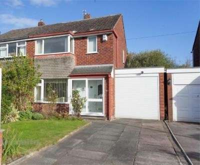 3 Bedrooms Semi Detached House for sale in Severn Road, Culcheth, Warrington, Cheshire