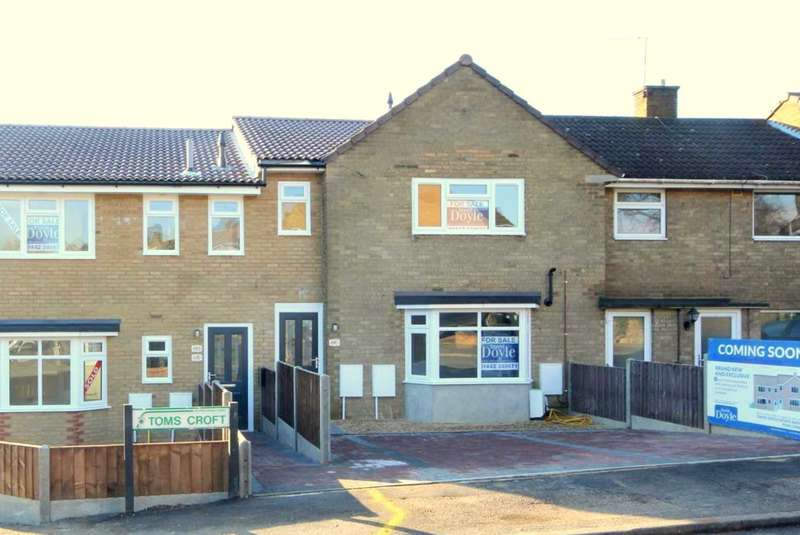2 Bedrooms Maisonette Flat for sale in NEW FIRST FLOOR MAISONETTE - 64b Toms Croft, ADEYFIELD, HP2