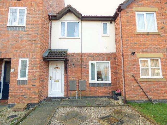 2 Bedrooms Terraced House for sale in Severn Court, Grosvenor Park, Morecambe, Lancashire, LA3 3ST