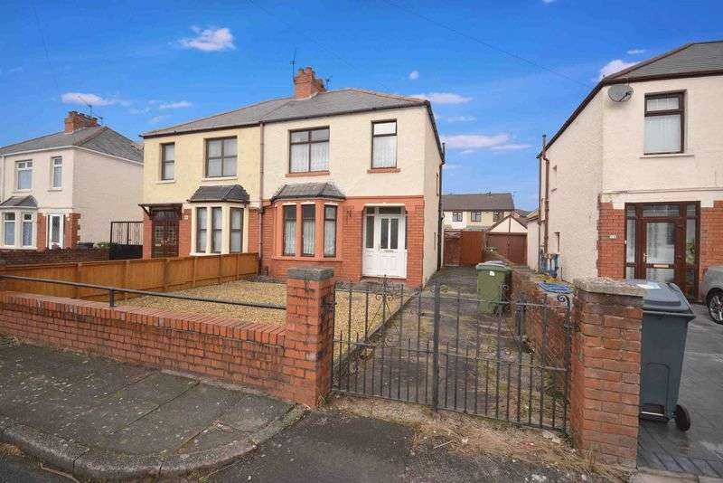 3 Bedrooms Semi Detached House for sale in Norbury Avenue, Fairwater, Cardiff