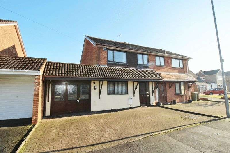 3 Bedrooms Semi Detached House for sale in The Hayes, Summer Hayes, Willenhall