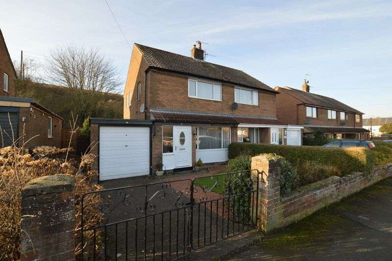 2 Bedrooms Semi Detached House for sale in 48 Ladywell Road, Tweedmouth, Berwick-Upon-Tweed