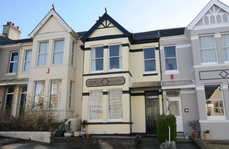 3 Bedrooms Terraced House for sale in Ganna Park Road, peverell, Plymouth. A characterful 3 bedroomed terraced home in need of some refurbishment.