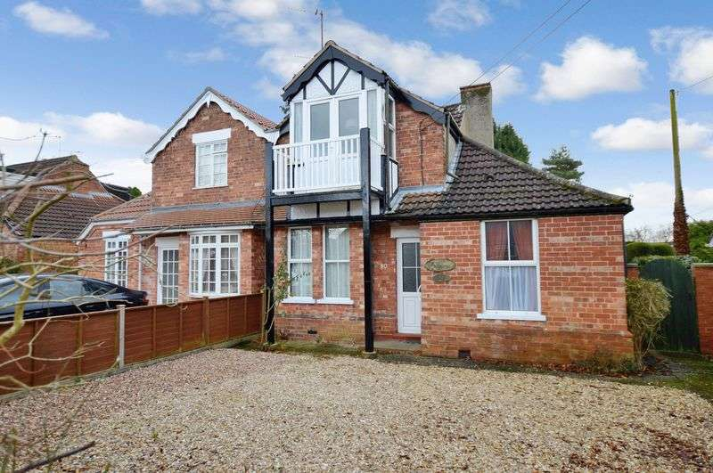 3 Bedrooms Semi Detached House for sale in 80 Tor O Moor Road, Woodhall Spa