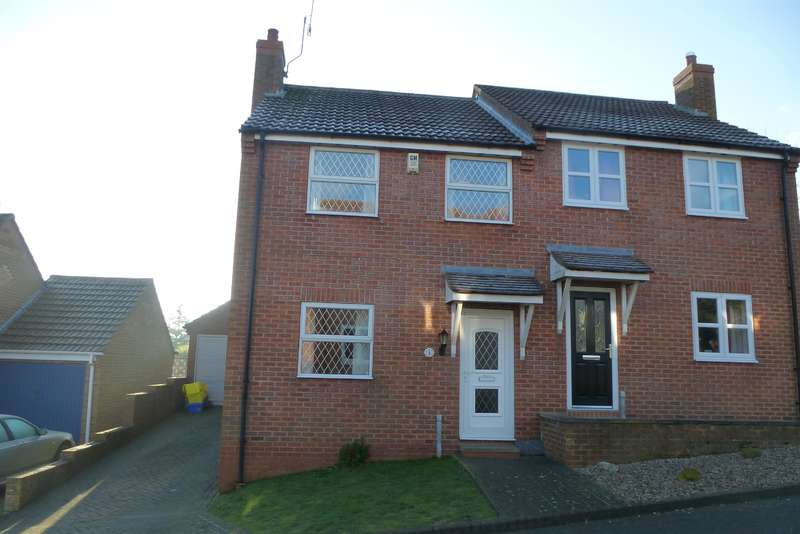3 Bedrooms Semi Detached House for sale in Oliver's Close, Hunmanby, YO14 0JW