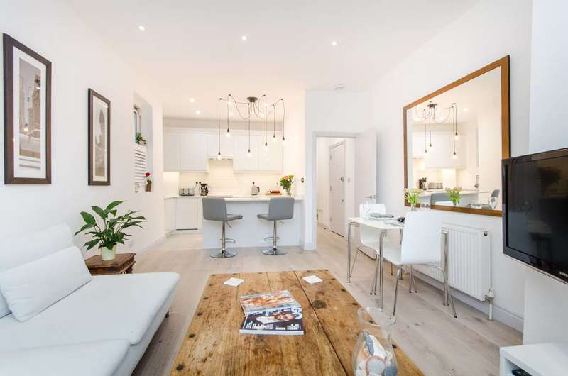2 Bedrooms Flat for sale in Baldry Gardens, Streatham Common, SW16