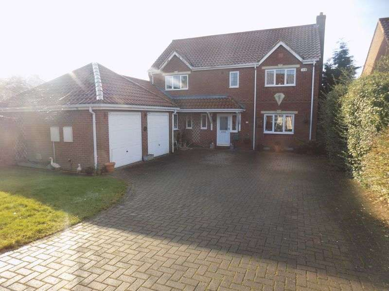4 Bedrooms Detached House for sale in Prospect Mews, Misterton