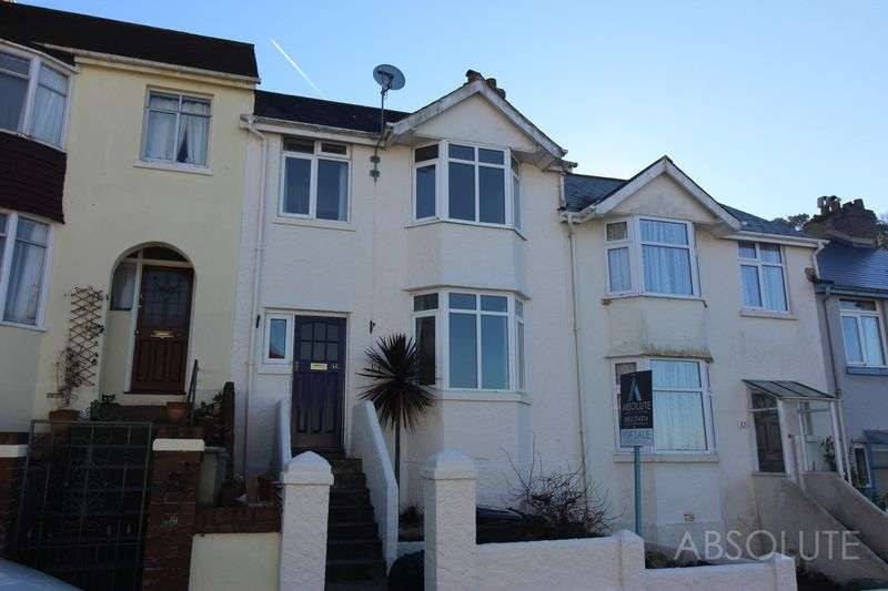 3 Bedrooms Terraced House for sale in Florida Road, Torquay