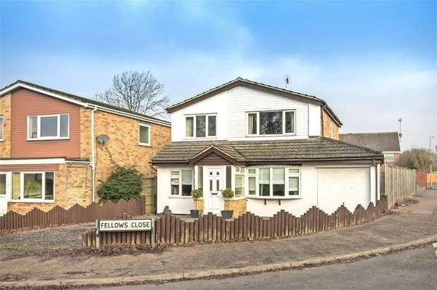 4 Bedrooms Detached House for sale in Fellows Close, Wollaston, Wellingborough, Northamptonshire