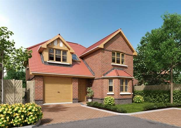 4 Bedrooms Detached House for sale in Swallowfield, The Oaks, SINDLESHAM, Berkshire