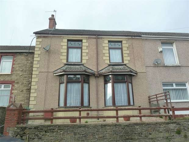 3 Bedrooms Semi Detached House for sale in Tonna Road, Caerau, Maesteg, Mid Glamorgan