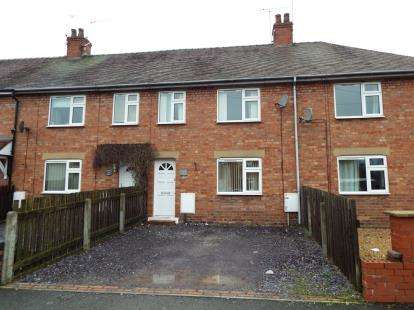 3 Bedrooms Terraced House for sale in St. Marys Road, Nantwich, Cheshire