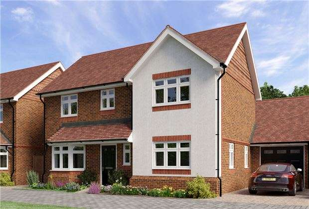 3 Bedrooms Detached House for sale in 2 Campbell Close, Reigate Road, Hookwood, HORLEY, Surrey, RH6 0AS
