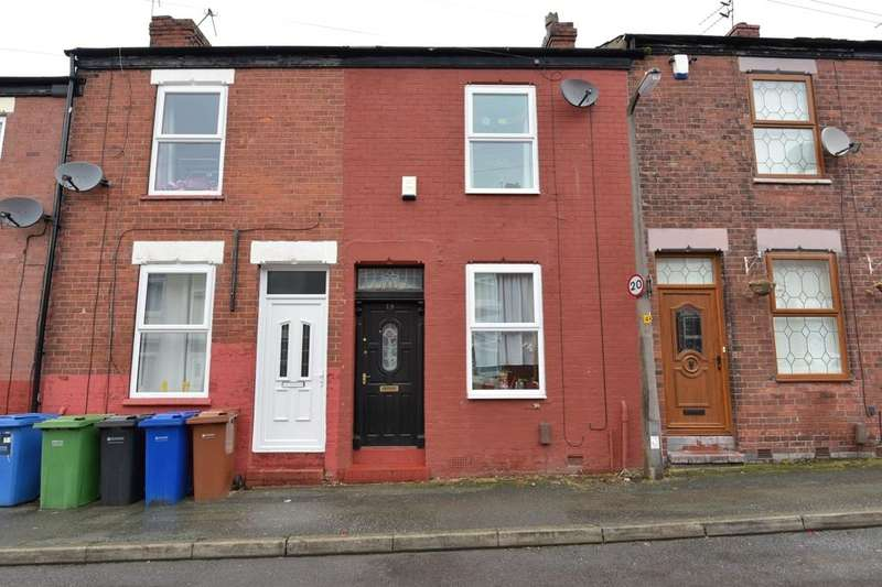 2 Bedrooms Terraced House for sale in Victoria Road, Offerton, Stockport, SK1 4AT