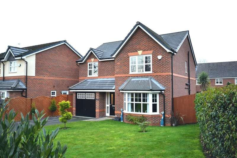 4 Bedrooms Detached House for sale in Whirley Road, Macclesfield