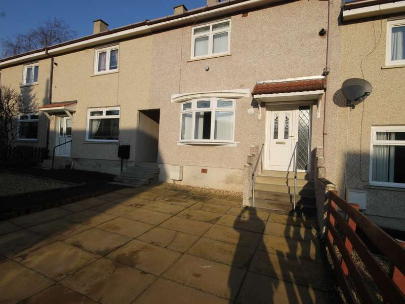 2 Bedrooms Terraced House for sale in 61 Braedale Crescent, Newmains, Wishaw, ML2 9AQ