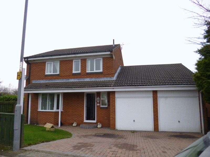 4 Bedrooms Detached House for sale in Beckett Close, Bishop Auckland