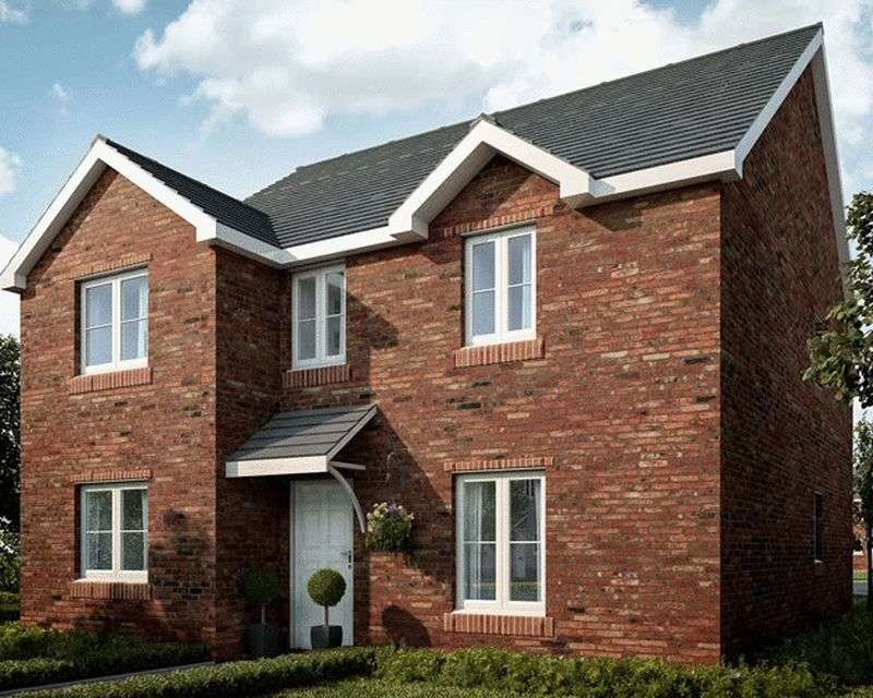 4 Bedrooms Detached House for sale in Plot 50, Ponthir Road Caerleon NP18 3NY