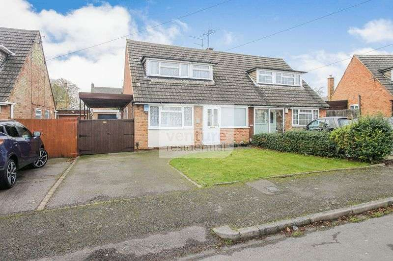 3 Bedrooms Semi Detached House for sale in Park View Close, Luton