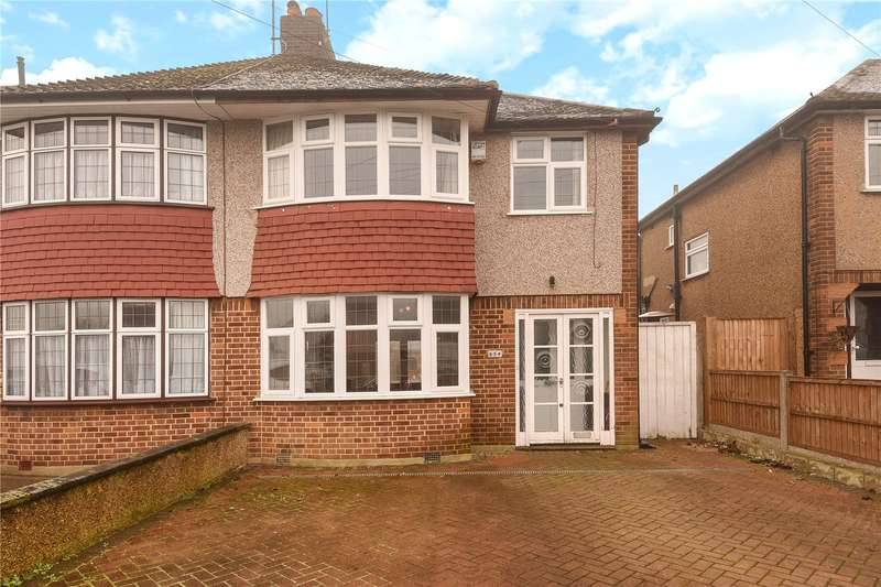 3 Bedrooms Semi Detached House for sale in Field End Road, South Ruislip, Middlesex, HA4