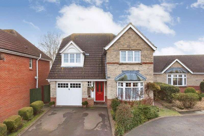 4 Bedrooms Detached House for sale in Monmouth Farm Close, Pawlett, Nr. Bridgwater