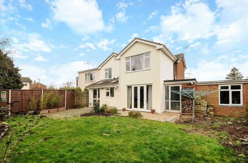 4 Bedrooms Semi Detached House for sale in Morland Road, Marcham