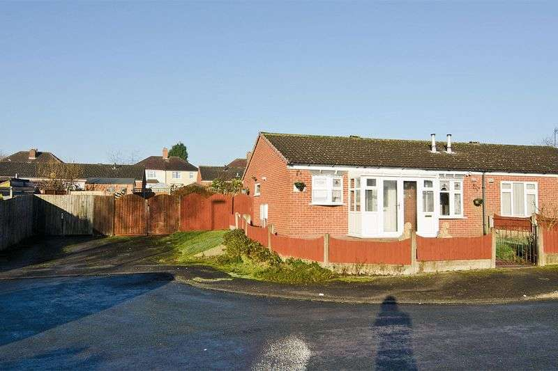 2 Bedrooms Semi Detached Bungalow for sale in Haig Close, Hednesford, Cannock
