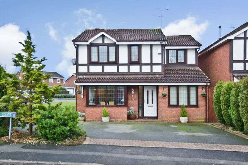 4 Bedrooms Detached House for sale in Thornbury Court, Perton