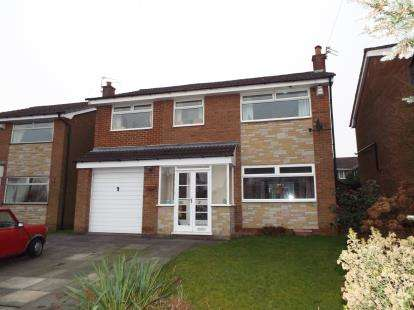 4 Bedrooms Detached House for sale in Ribbleton Close, Bury, Greater Manchester, BL8