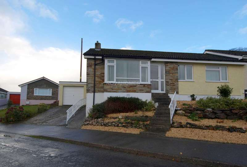 3 Bedrooms Semi Detached Bungalow for sale in Kelly Bray, Callington
