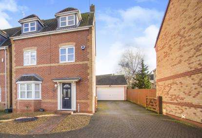 5 Bedrooms Detached House for sale in Woodlands Court, Oadby, Leicester, Leicestershire